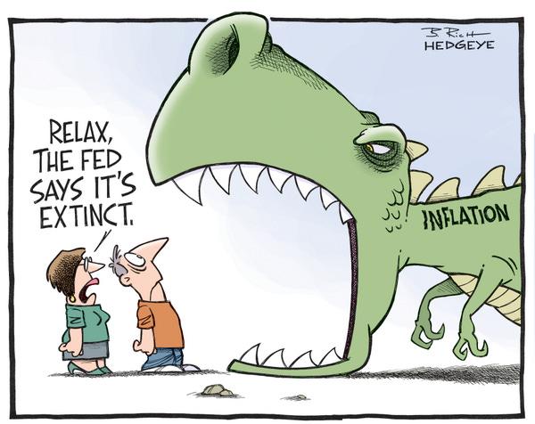 "Hedgeye on Twitter: ""Cartoon of the Day: #Inflation T-Rex  http://t.co/n3L5SJ4f9O via @Hedgeye http://t.co/EZ7PNdDWMS"""