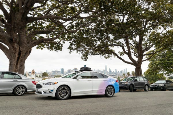 Lyft is using data from its rideshare drivers to develop self-driving cars.