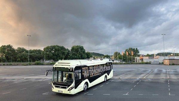 Volvo's Autonomous Bus.