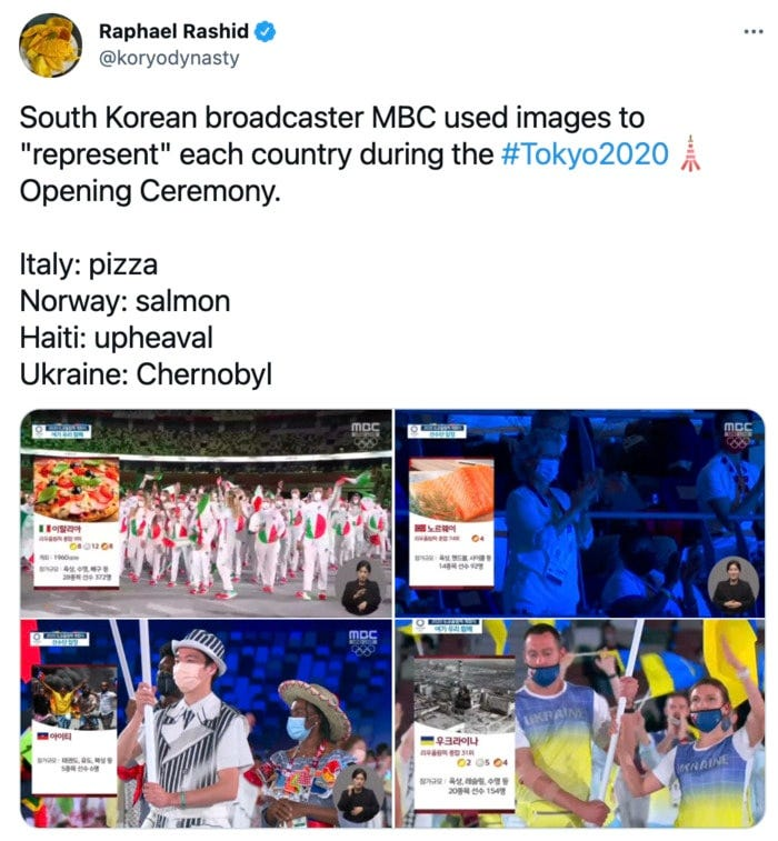 Olympic Memes Tweets - country images