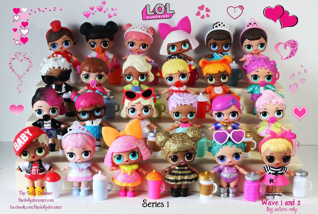 LOL Surprise Dolls Series 1   I finished collecting Series 1…   Flickr