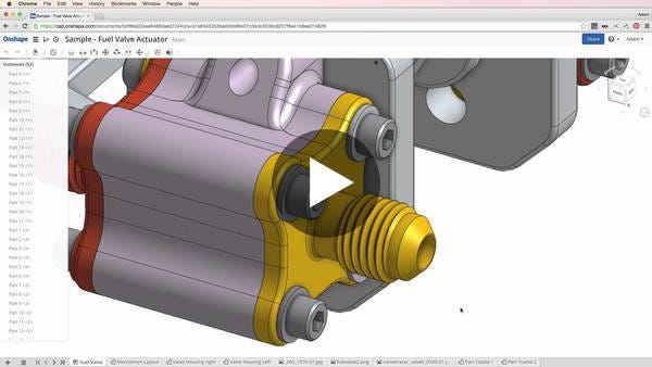 A Quick Overview of Parametric 3D CAD in the Cloud