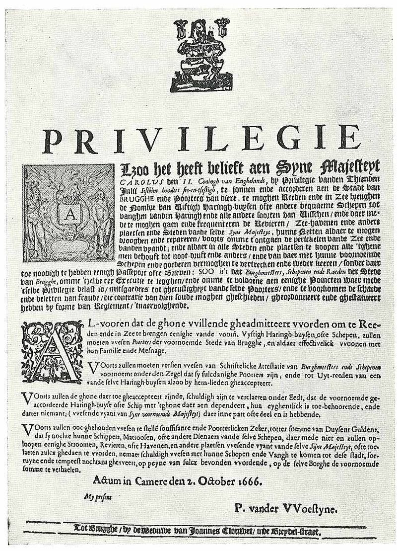 Publication of the Charter