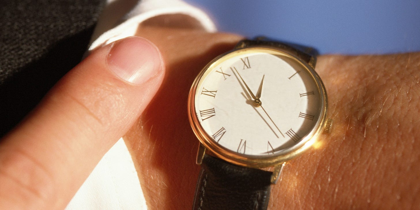 This Is Why You're Late All The Time (And What To Do About ...