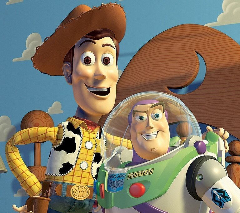 Could there be a Toy Story movie without Woody and Buzz?