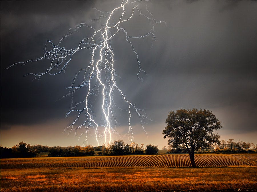 Can Lightning Strike the Same Place Twice?   Britannica