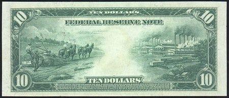 Hemp Money - The $10 Hemp Bill