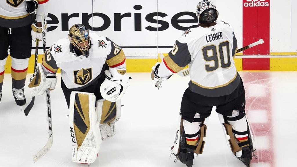 Golden Knights view goalie situation with Fleury, Lehner as top priority