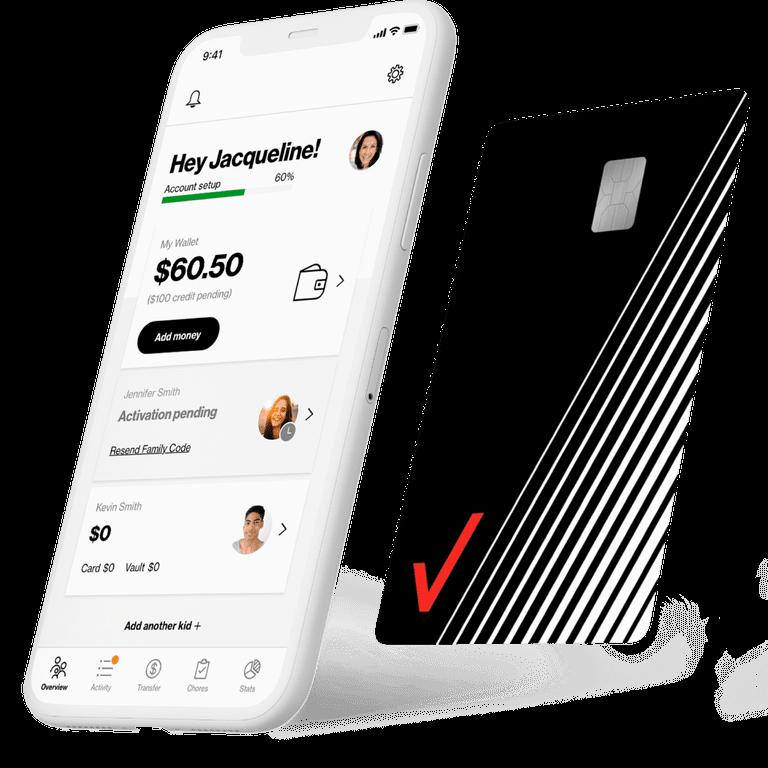 Mobile Verizon card image