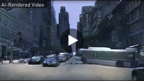 Research at NVIDIA: The First Interactive AI Rendered Virtual World