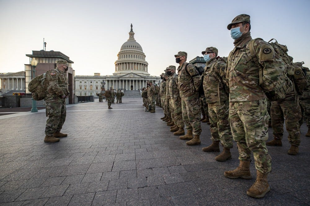 SMA praises National Guard's work ahead of inauguration | Article | The  United States Army