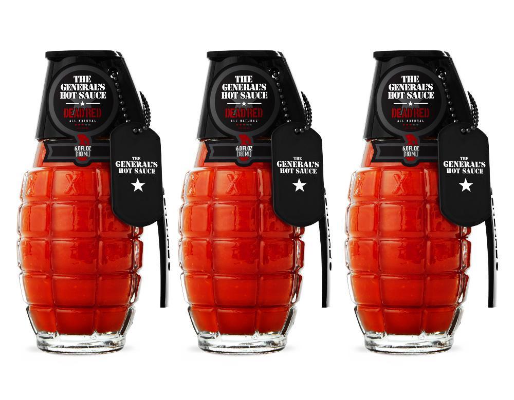Red Wave - 3 Bottles of Dead Red hot sauce (6 oz bottles) – The ...