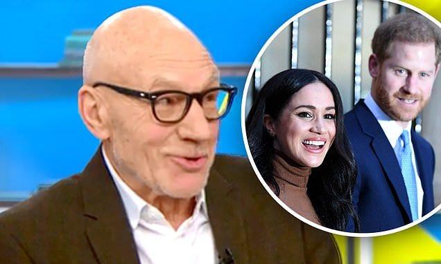 Flipboard: Patrick Stewart jokes Harry and Meghan cut ties with the royal  family to star on Star Trek: Picard