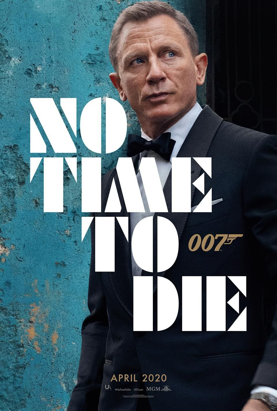 No Time To Die' Posters: The Next James Bond Movie Has One Big Advantage  Over 'Spectre'