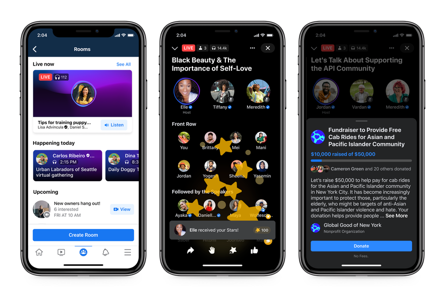 Live Audio Rooms screenshot