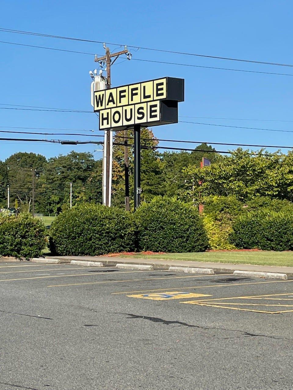 Waffle House parking lot