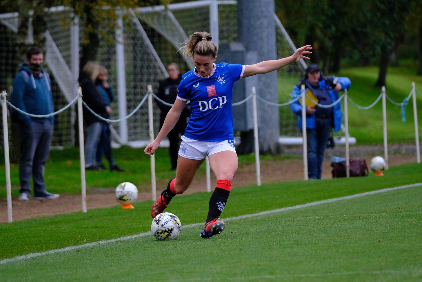 Rangers' midfielder Chelsea Cornet