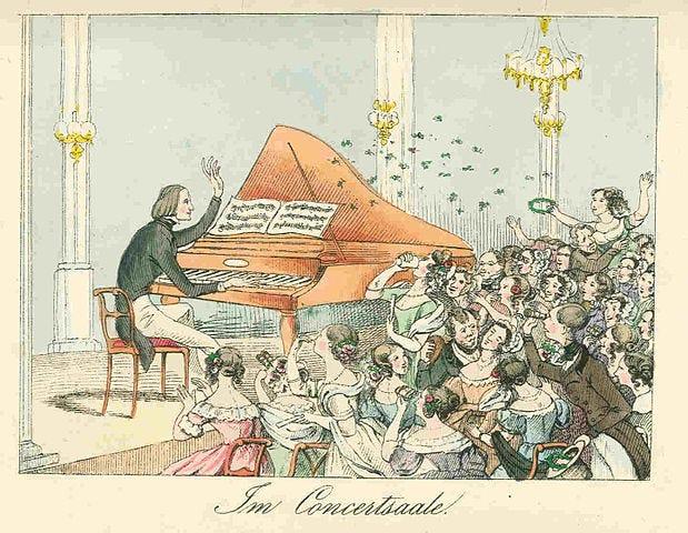 File:Liszt koncertteremben Theodor Hosemann 1842.jpg - Wikimedia Commons