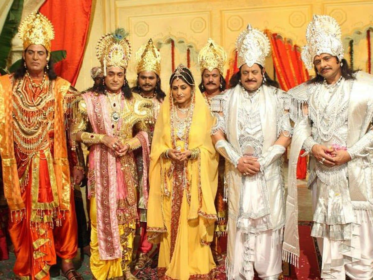 Iconic mythological series 'Mahabharat' to be re-telecast ...