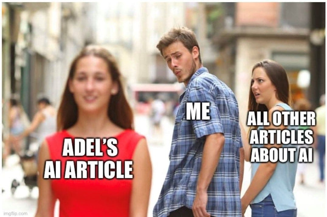 I was thinking to add some DL meme at the beginning and my friend come up with this. Adel is me, by the way ( ͡❛ ᴥ ͡❛)