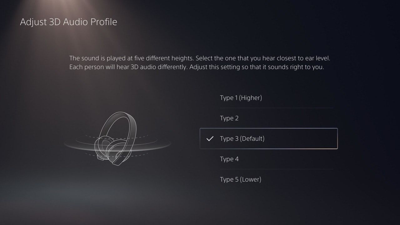 Don't Forget To Check Your PS5 3D Audio Profile
