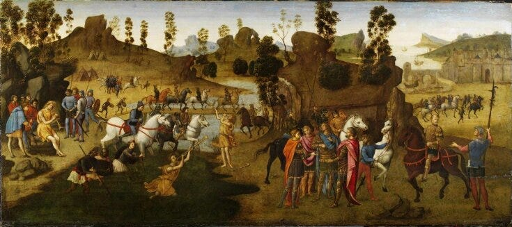 Julius Caesar and the Crossing of the Rubicon top image