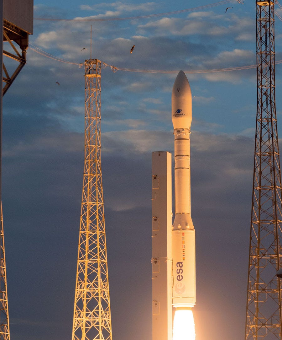 Europe's Vega Rocket Launch With UAE Satellite Fails – Courthouse News  Service