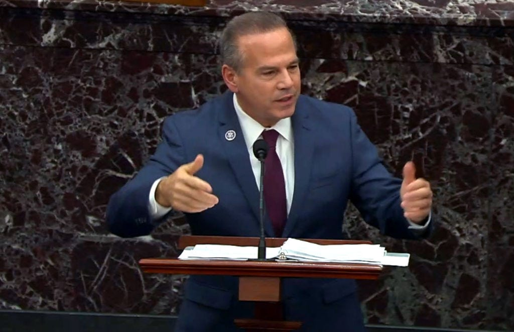 Rep. David Cicilline (D-RI) speaking in Congress earlier this year. (Getty Images)