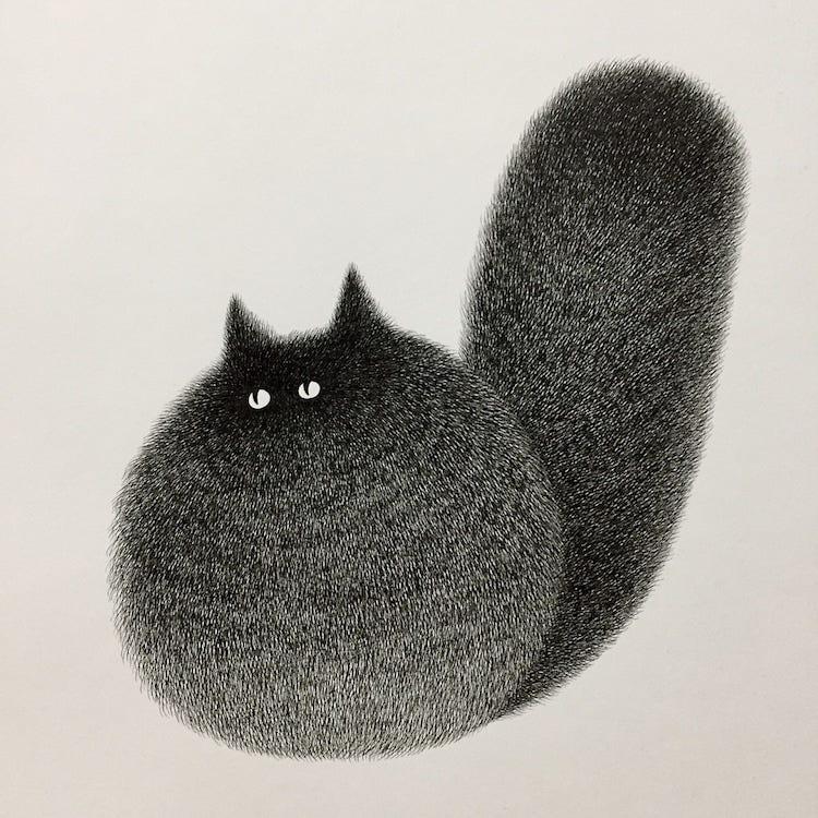 Cat art : cats