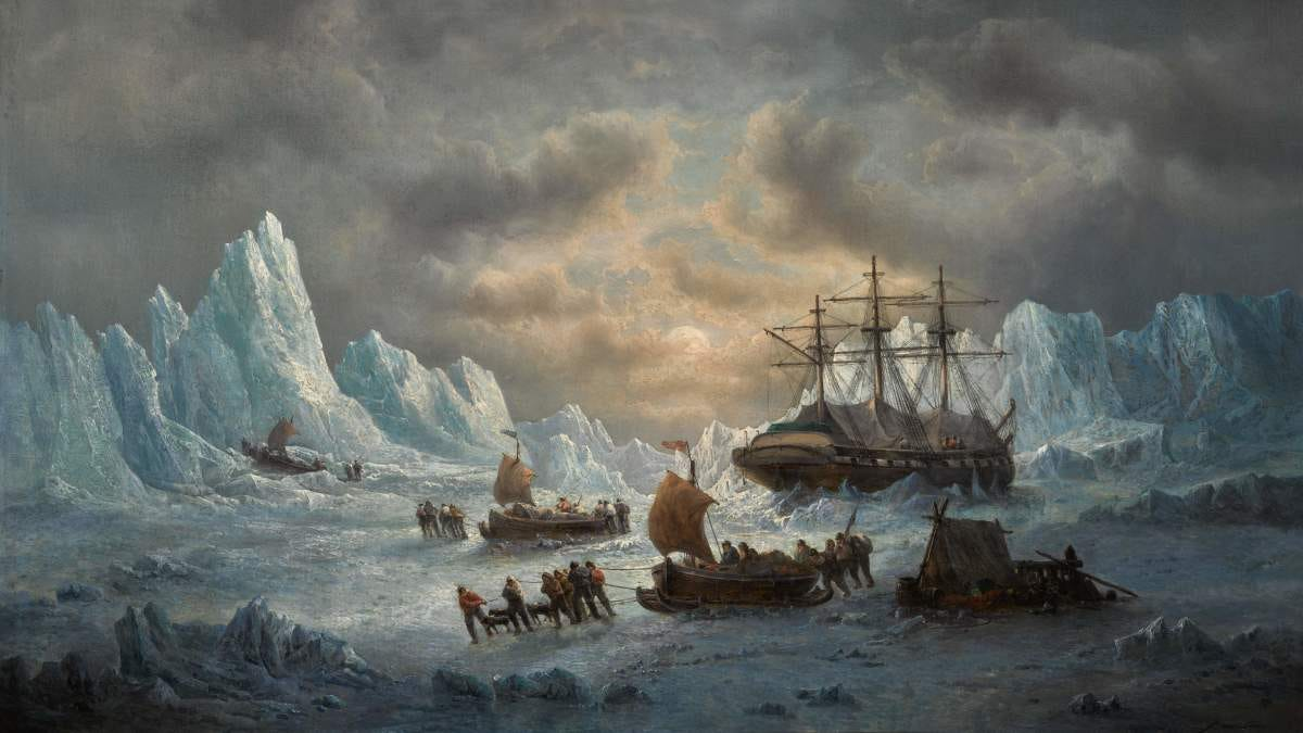The Search for Sir John Franklin in the Arctic | 19th Century ...