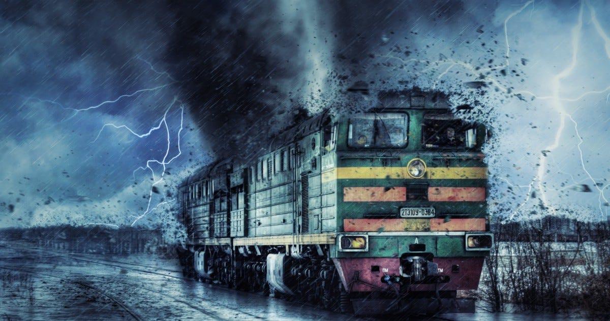 train tornado