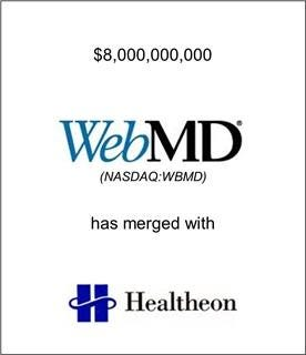 WebMD Has Merged with Healtheon