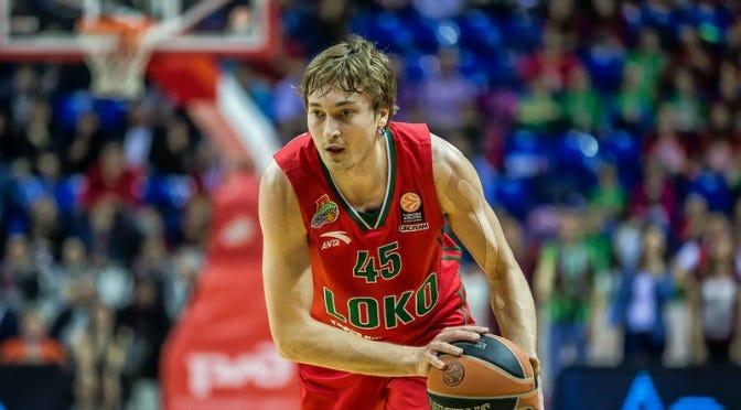 Ryan Broekhoff | Credit: Lokomotiv Kuban Press Service