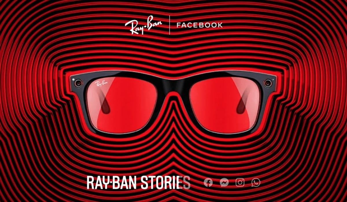 Ray-Ban Stories: Smart glasses from Facebook and Ray-Ban are official -  World Weekly News