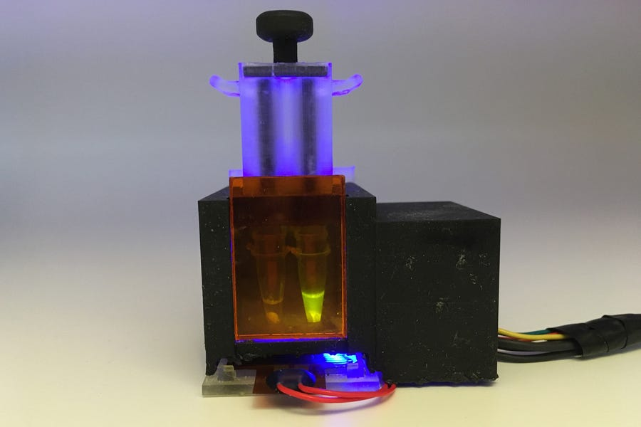 tabletop covid testing device