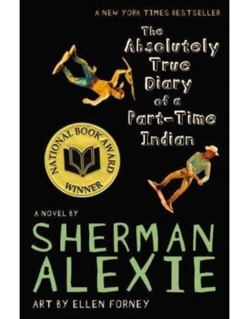 Cover of The Absolutely True Diary of a Part-Time Indian by Sherman Alexie
