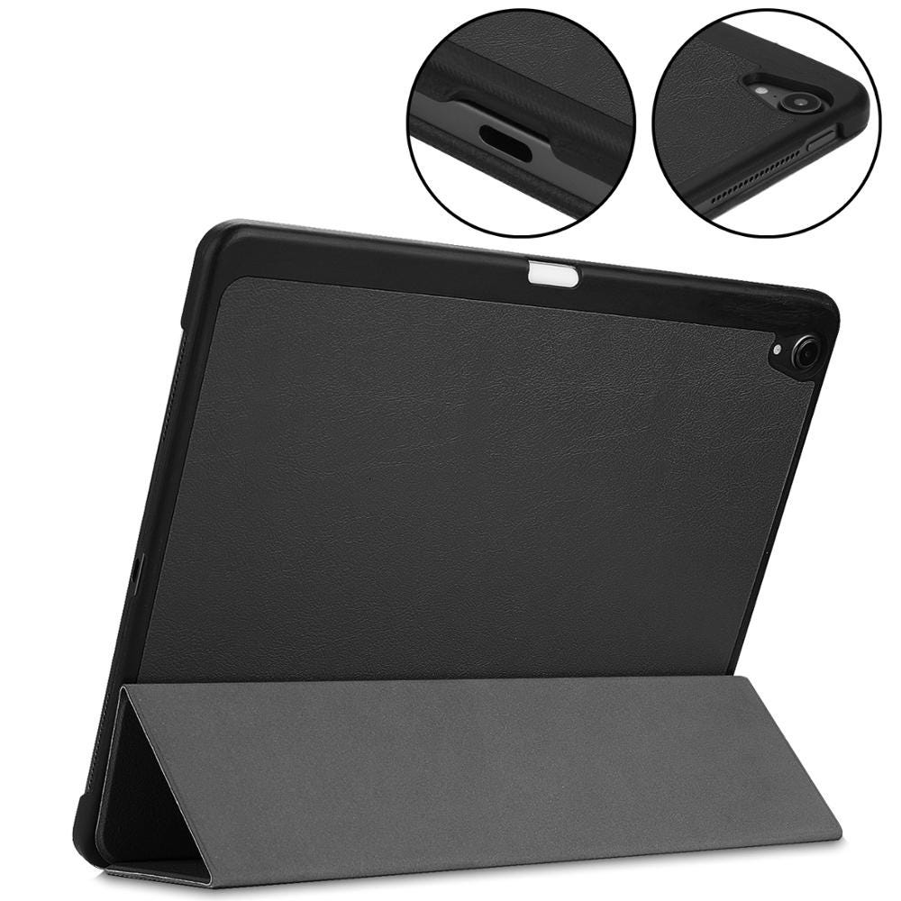 Case for iPad Pro 12.9 Inch 2018 3rd Gener, Full Body Protective Rugged Shockproof Case with iPad Pencil Holder, Auto Sleep/Wake
