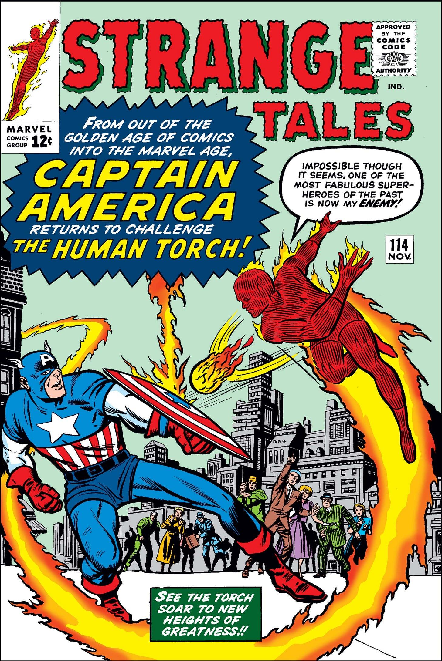 Strange Tales (1951) #114 | Comic Issues | Marvel