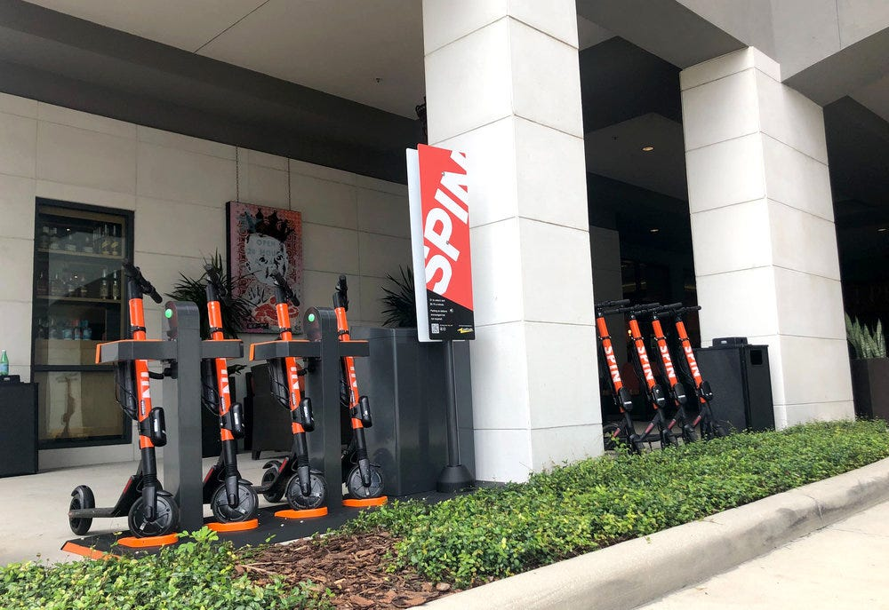 Image result for spin hub scooter