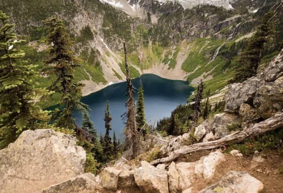 maple pass loop trail overlook