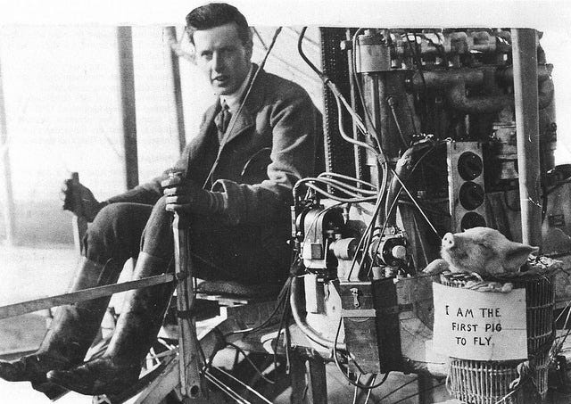 File:First pig to fly, 1909. 02.jpg