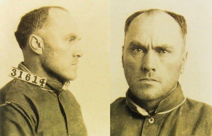 Vicious serial killer Carl Panzram