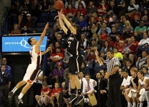 Bosko Kostur - Credit Torrey Vail via Bryant University Athletics