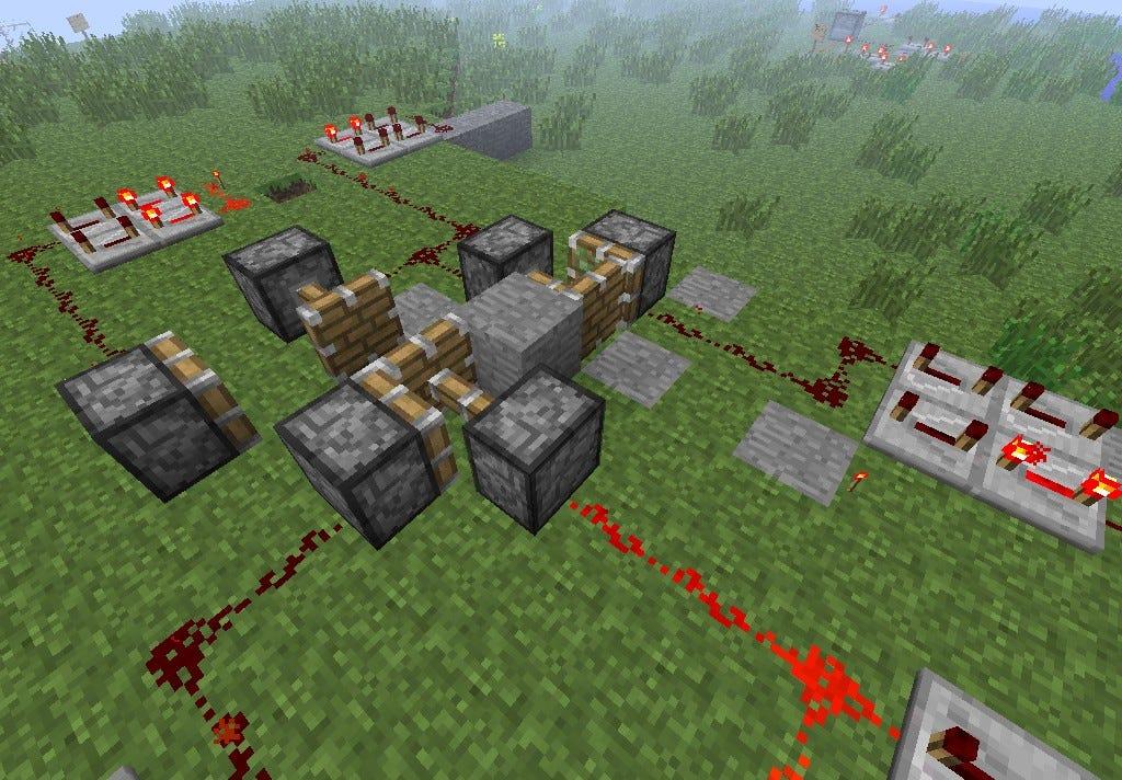 Redstone Machines Minecraft Project