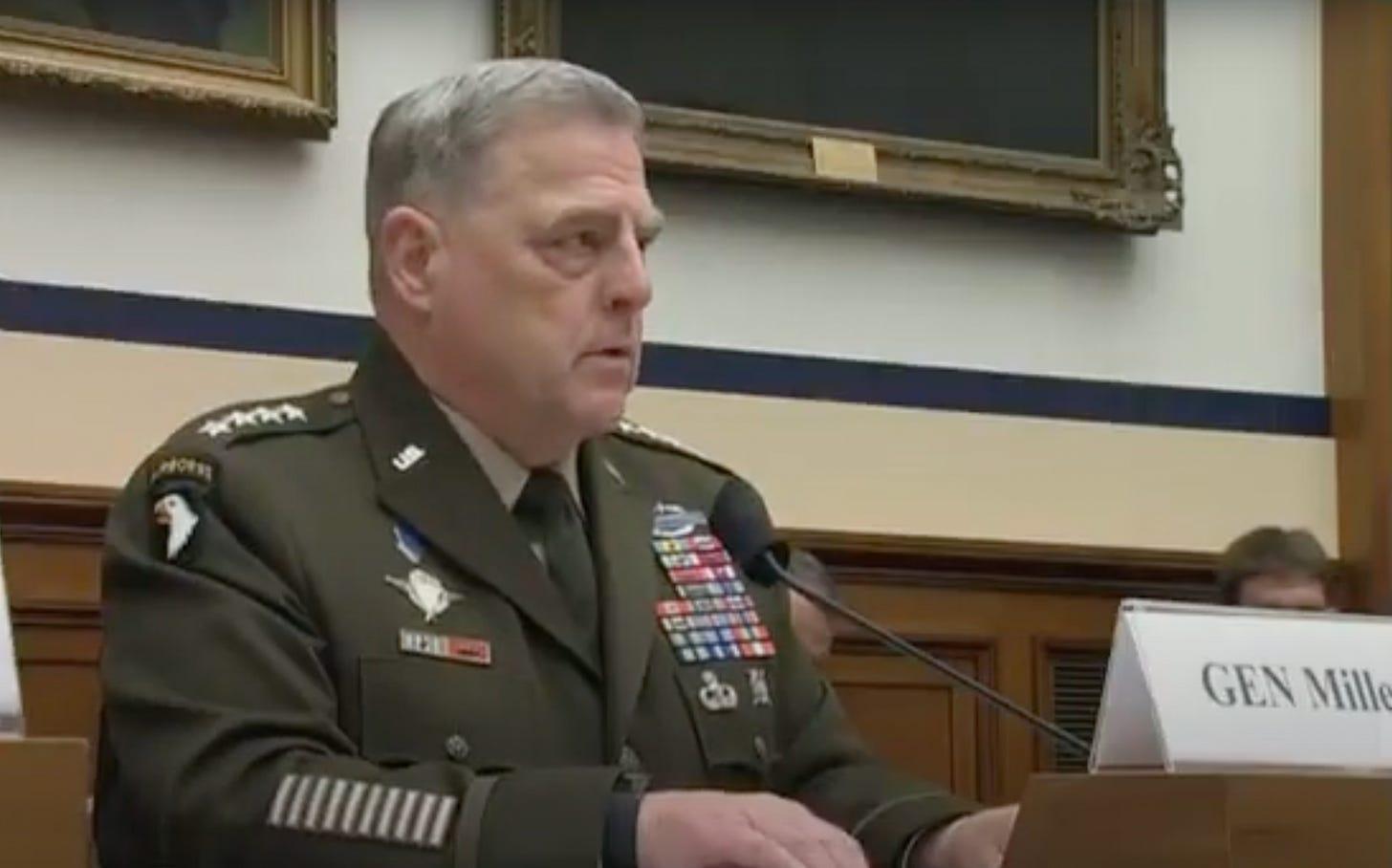 Was steckt hinter Gen. Mark Milley's Rassenpredigt?  Schauen Sie sich den neuen Inlandskrieg gegen den Terror an.