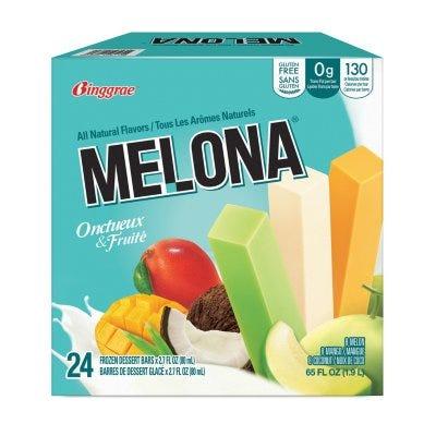 Binggrae Melona Frozen Dairy Dessert Bars Variety Pack (24 pk.) - Sam's Club