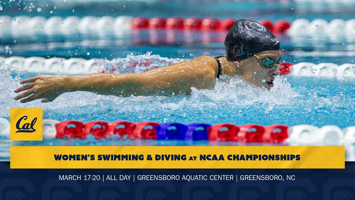 Cal Heads To NCAA Championships