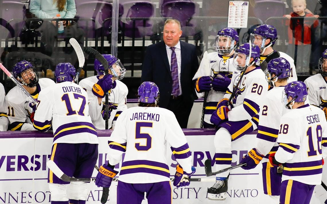 Q & A with Minnesota State coach Mike Hastings: Putting a bow on '19-'20  and looking ahead to a different '20-'21 | Post Bulletin