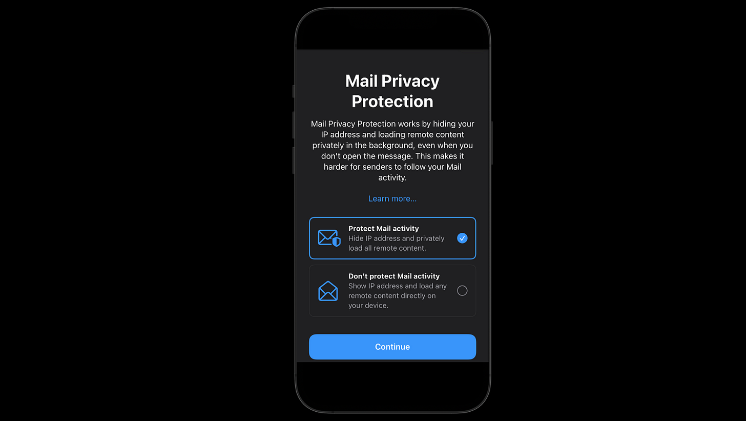 Apple Is Killing Email Tracking With a Single Popup - by Anupam Chugh - Big  Tech