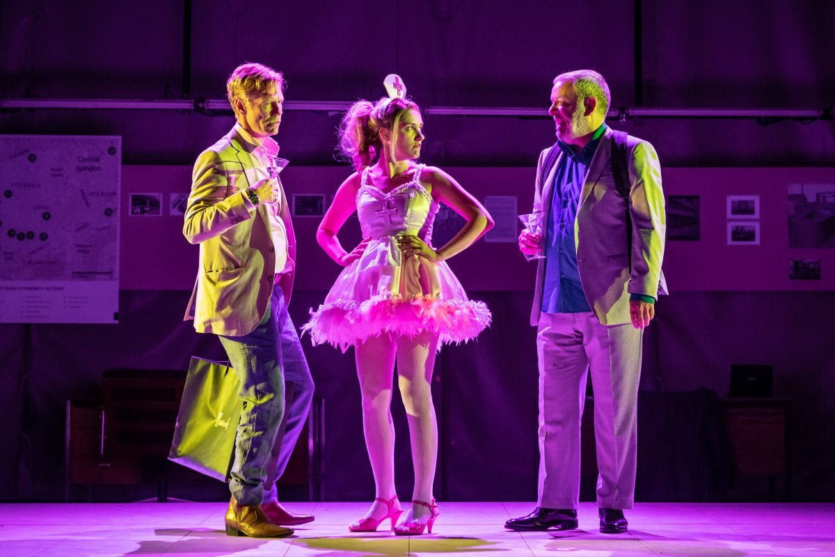 A Very Expensive Poison | The Old Vic